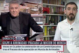 """Escolar llora en el hombro de Ferreras: """"El PP ha ganado haciendo trampas"""""""