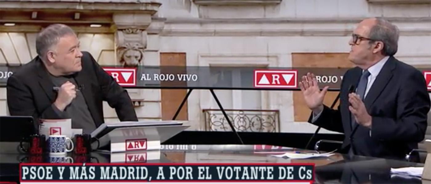 """El PSOE 'regaña' a Gabilondo por decir en laSexta que no pactará con el """"extremista"""" Iglesias"""