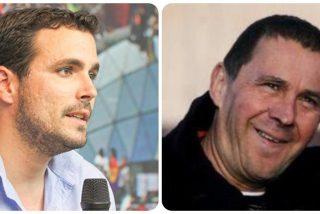 Alberto Garzón con los verdugos: invita al proetarra Otegi a hablar de libertad en una asamblea de IU
