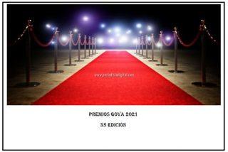 Secretos de la alfombra roja Goya 2021 👈