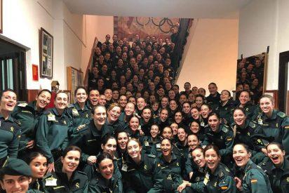 La foto de la Guardia Civil que chafa a Irene Montero, Podemos y al feminismo sectario