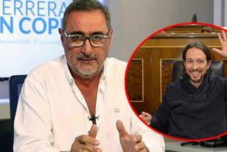"""El presagio de Herrera con Iglesias: """"No te vas a sentar nunca en la Asamblea de Madrid"""""""