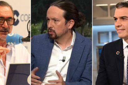 Carlos Herrera detalla qué tendría que pasar para que entrevistara en COPE a Sánchez o Iglesias