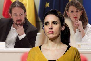 """Irene Montero se atraganta un mes después con su disparate: """"Yolanda Díaz, la mejor ministra de Trabajo de España"""""""