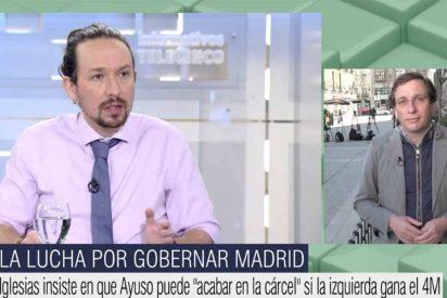 """Soberbia respuesta de Almeida al acusador Iglesias: """"Que tenga cuidado, no vaya a tener que ir de Galapagar a la cárcel"""""""