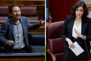 """Isabel Díaz Ayuso (PP): """"Pablo Iglesias está acabado"""""""
