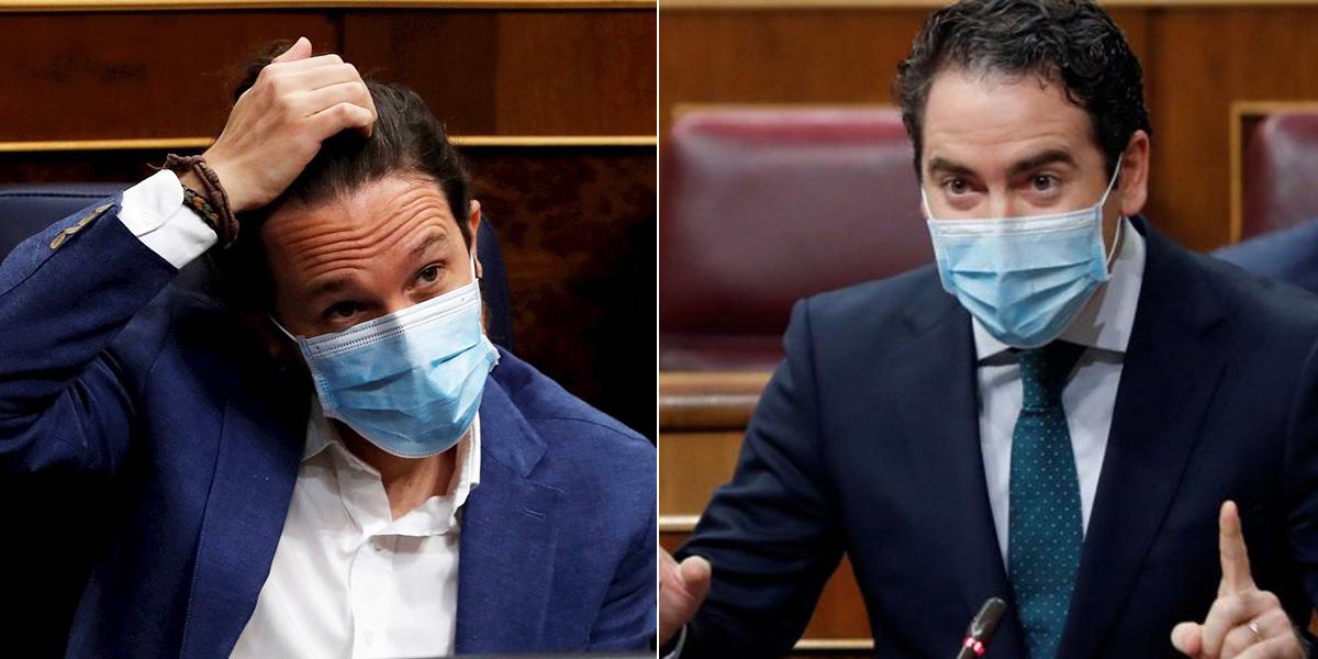 """Egea abochorna a Iglesias: """"¡Usted es la violencia callejera personificada en este Gobierno!"""""""