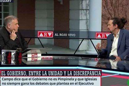 Tronchante: los podemitas lloran asegurando que Ferreras ha vetado a Pablo Iglesias en laSexta