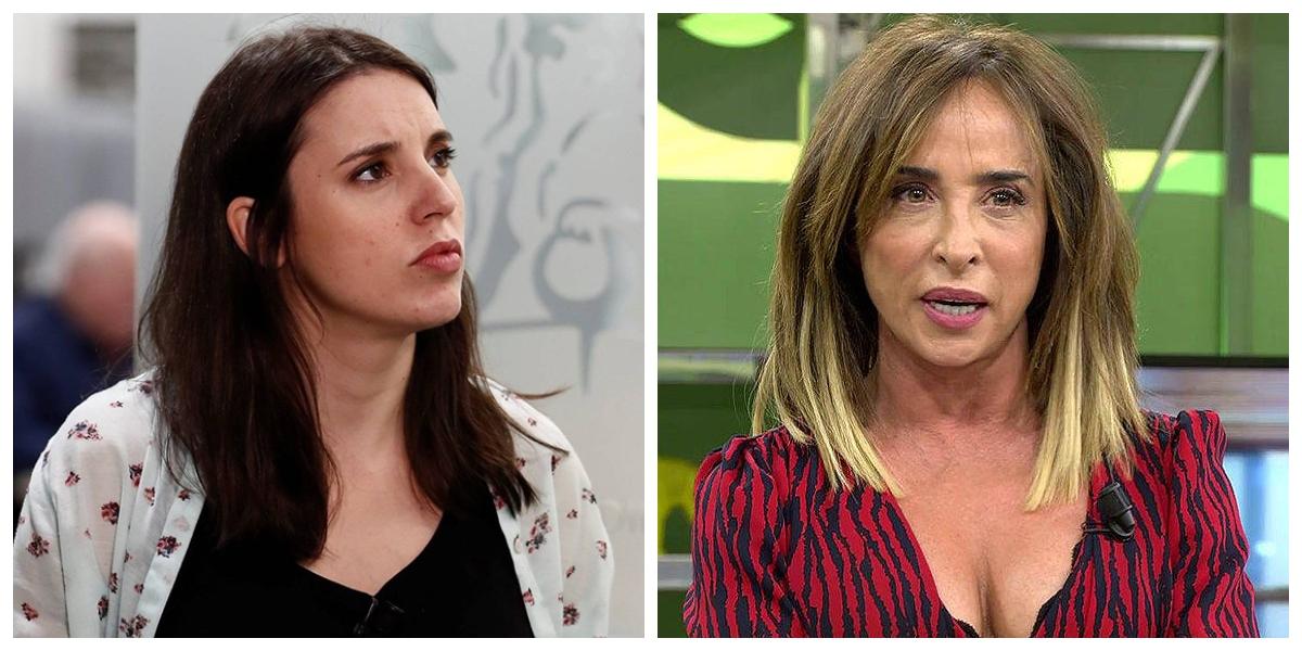 María Patiño deja tiritando y sin argumentos a la ministra Montero por el caso de Rocío Carrasco