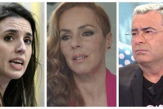 Irene Montero y Jorge Javier Vázquez, dos oportunistas que hacen campaña con el caso de Rocío Carrasco