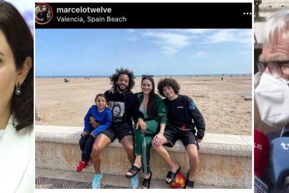 La campaña de la izquierda contra Ayuso apesta: el alcalde de Valencia la culpa de que Marcelo esté en la playa