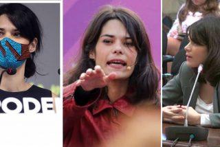 """Isa Serra, de llamar """"cocainómana, zorra y mala madre"""" a una mujer policía, a dar lecciones de feminismo"""