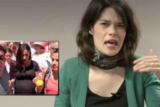 La necedad de Isa Serra nunca termina: niega en TV el terrible escrache que vivió Villacís en 2019 a dos días de dar a luz