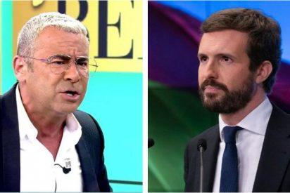 Jorge Javier Vázquez se burla de Casado e insulta a García Egea y causa un cisma en Telecinco