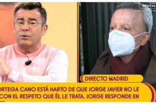 """Ortega Cano se enfada con Jorge Javier Vázquez: """"¡Siempre estás poniéndome como si soy un maricón!"""""""