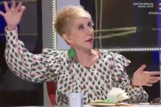 "Karmele Marchante, en la TV3: ""Yo a Díaz Ayuso la llamo la loca frenopática"""
