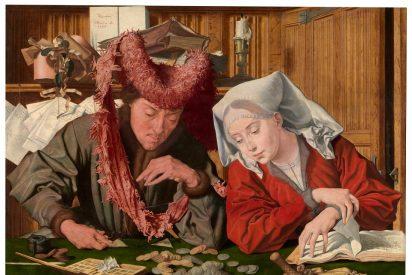 Marinus de Reymerswale y los primeros capitalistas