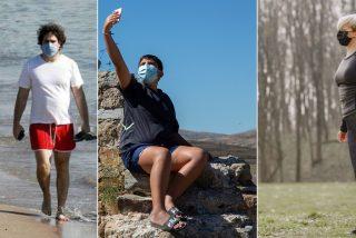 La mascarilla será obligatoria en toda España al aire libre aunque usted esté solo en el monte o en la playa