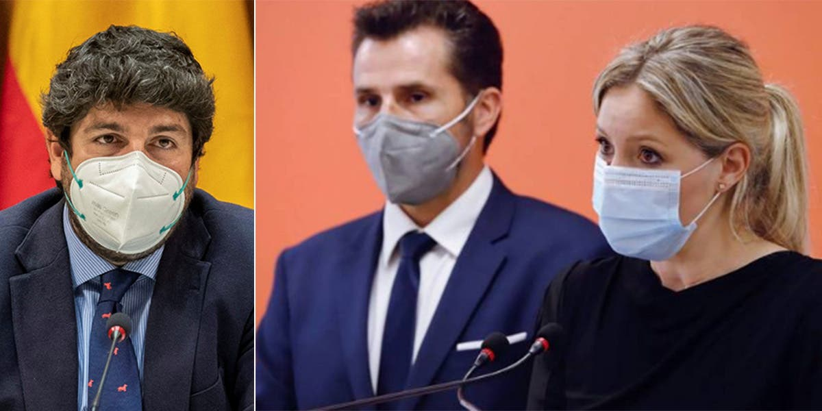 La moción de censura fracasa en Murcia antes de empezar: el PP pacta con tres diputados de C's