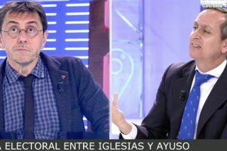 Vuelve el 'bulldog' de Iglesias para la campaña de Madrid pero le crujen en TV con dos frases