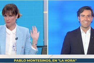"""Pablo Montesinos sacude en la boca Mónica López: """"Lo reitero por tercera vez, por si no me ha entendido bien..."""""""
