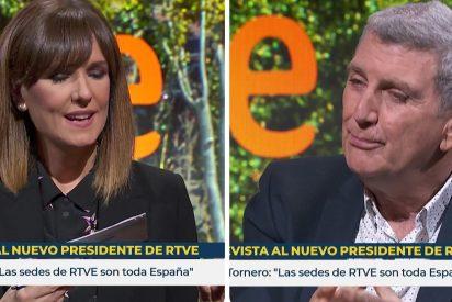 """Pérez Tornero se toma a coña la pregunta sobre si la endeudada RTVE es viable: """"De momento estamos cobrando"""""""
