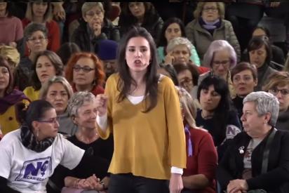 """Palo de una mujer a Irene Montero: """"Represéntate tú, trabaja, estudia y deja de ser una g*****"""""""