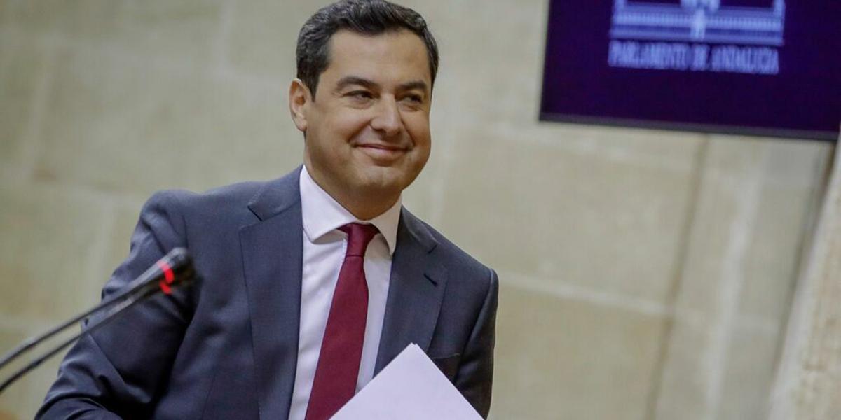 Juanma Moreno (PP) roza la mayoría absoluta en Andalucía: le mete más de 10 puntos de ventaja al PSOE