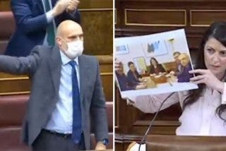 """Congreso: descomunal cabreo de un diputado de VOX con los de Bildu por llamar """"puta loca"""" a Olona"""