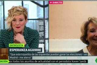 El 'ciclón' Esperanza Aguirre arrasa laSexta en favor de Isabel Díaz Ayuso
