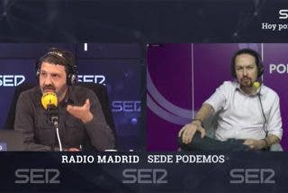 """Iglesias confirma en la SER que su matonismo en campaña ha venido para quedarse: """"Si VOX o Ayuso nos mandan a sus cachorros..."""""""