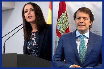 El PSOE CyL amenaza con una moción de censura imposible sin que Arrimadas lo permita