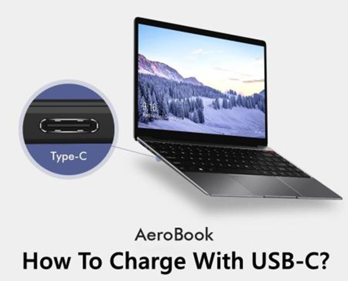 Portátil con USB C