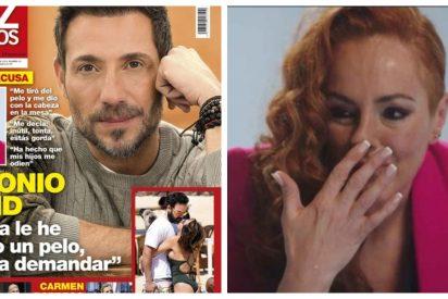 Festival de hipocresía con la exclusiva de Antonio David Flores respondiendo a Rocío Carrasco