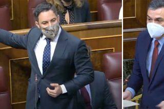 """Abascal baja al barro de Sánchez en el Congreso: """"¿A quién está insultando? ¿A mi madre?"""""""