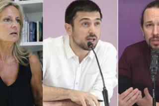 """Isabel San Sebastián jalea los ataques de Espinar al capitalista Iglesias: """"Daga de acero en guante de seda"""""""
