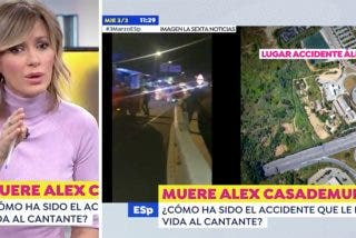 """""""A lo mejor él salió normal y fue el autobús... ¡Vete tú a saber!"""" Espejo Público monta un show escurridizo del accidente mortal de Álex Casademunt"""