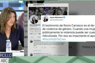 """Cruz Morcillo cierra la boca a Irene Montero por hablar con ligereza del caso Rocío Carrasco: """"Bromas, las justas"""""""