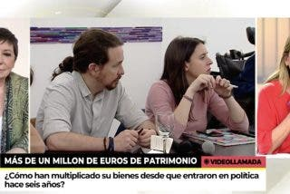 """Esther Palomera y Celia Villalobos 'despelucan' a Iglesias en Telecinco: """"Lo va a pagar en Madrid"""""""
