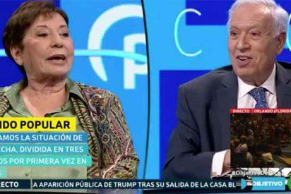 """Silencio sepulcral de varios segundos en laSexta cuando Villalobos le dice a Margallo que está """"un poco mayor"""""""