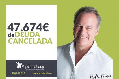 Repara tu Deuda Abogados cancela más de 47.674 € en Barcelona con la Ley de Segunda Oportunidad