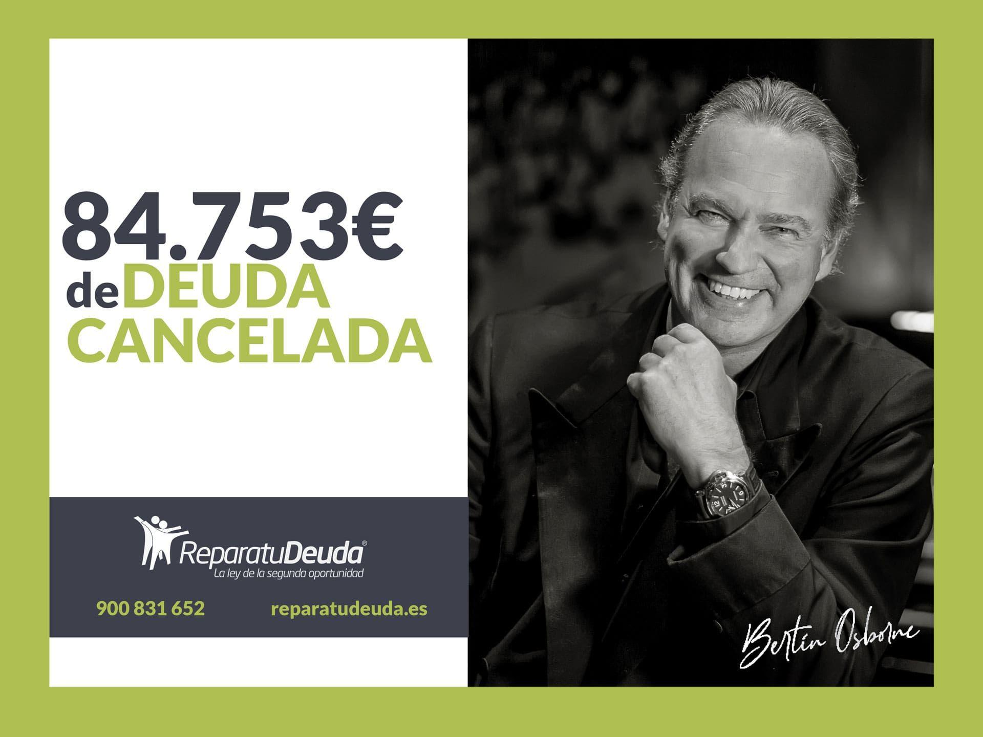 Repara tu Deuda Abogados cancela 84.753 € con deuda pública en Madrid con la Ley de la Segunda Oportunidad