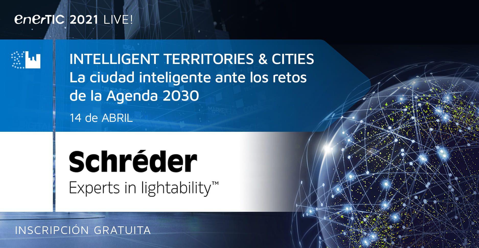 Schréder participa en el Foro intelligent Territories & Cities