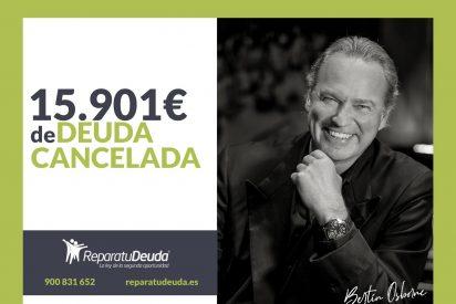 Repara tu Deuda Abogados cancela 15.901€ en Madrid con la Ley de Segunda Oportunidad