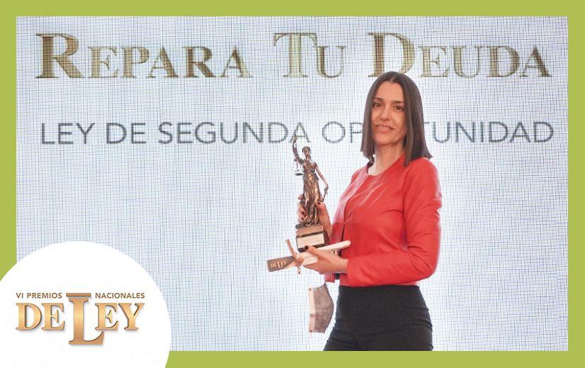 Repara tu Deuda abogados gana el Premio Nacional de Ley en la categoría 'La Ley de la Segunda Oportunidad'