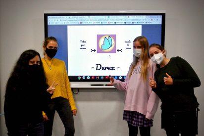 Alumnas del Colegio Logos presentan DEREX CLINIC, un proyecto de emprendimiento para Educaixa Next