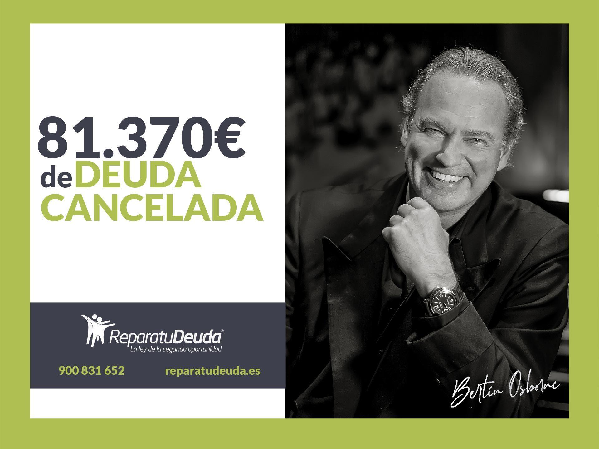 Repara tu Deuda Abogados cancela 81.370 € en Barcelona con la Ley de Segunda Oportunidad