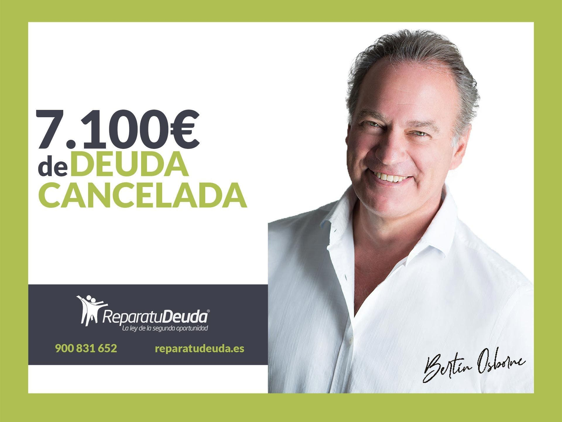 Repara tu Deuda Abogados cancela 7.100 € en Lorca (Murcia) con la Ley de la Segunda Oportunidad