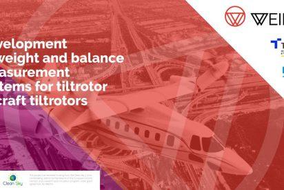 """Tekniker y Dibal colaboran en un sistema de medición de peso y equilibrio de aeronaves tipo """"tiltrotor"""""""
