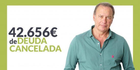 Repara tu Deuda abogados cancela 42.656 € en Barcelona con la Ley de Segunda Oportunidad